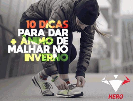 10 DICAS PARA DAR MAIS ÂNIMO DE TREINAR NO INVERNO
